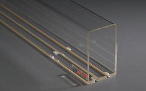 TRAIN-SAFE Vision Gauge H0m short width (30 cm)